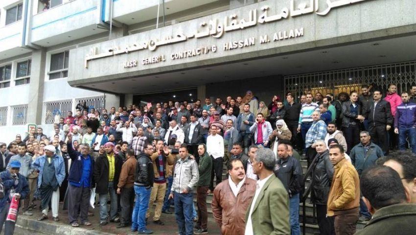 تجديد حبس 7 من عمال حسن علام 15 يوما بتهم التحريض والتجمهر