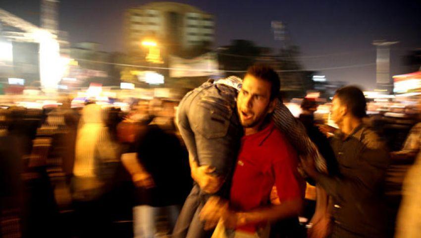 وقفة يمنية تنديدًا بأحداث الحرس الجمهوري في مصر