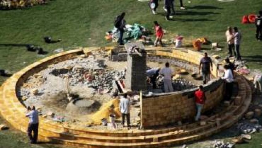 6 أبريل و الاشتراكيين الثوريين وراء تحطيم النصب التذكاري