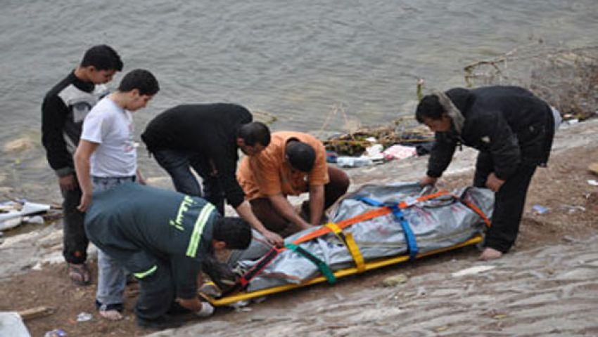 انتشال جثة الشحات بشاطئ رأس البر