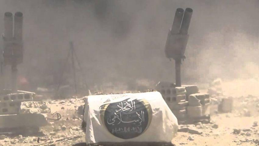 أجناد الشام يستهدف قصر الأسد بصاروخين