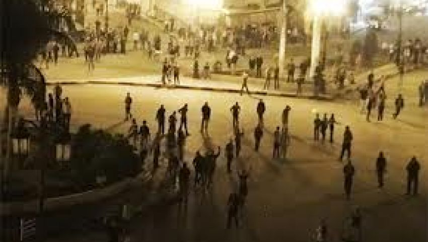اشتباكات بين مؤيدي ومعارضي مرسي بالمحلة