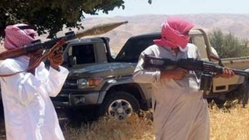مسلحون يهاجمون معسكر الأمن المركزى برفح