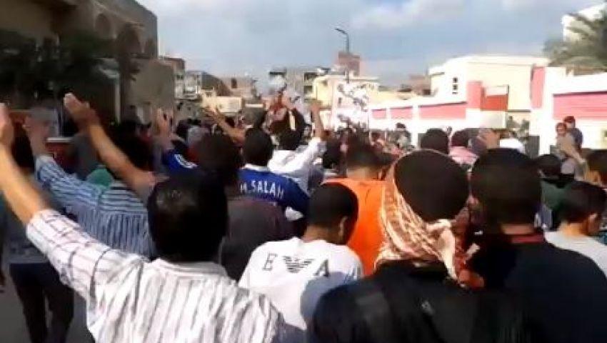 فيديو..مظاهرة طلابية تطوف شوارع حوش عيسى بالبحيرة