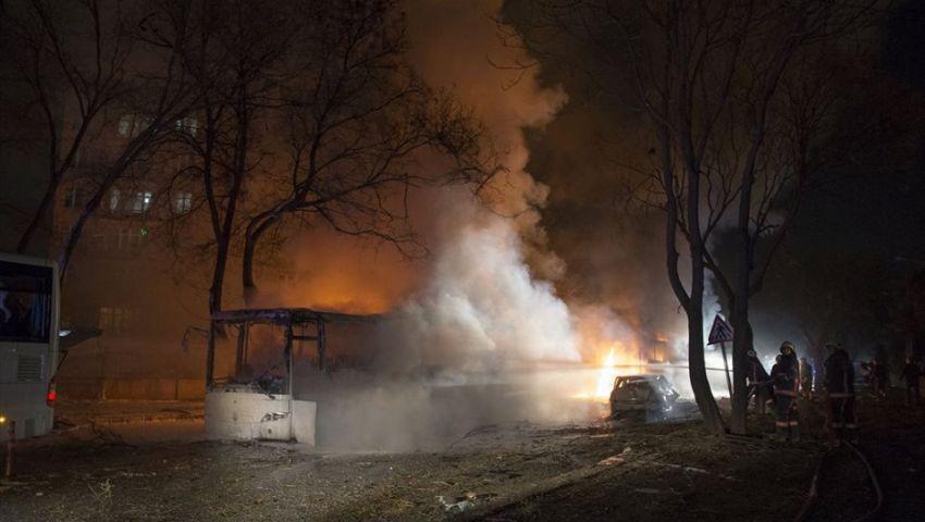 صقور كردستان تعلن مسؤوليتها عن تفجير أنقرة