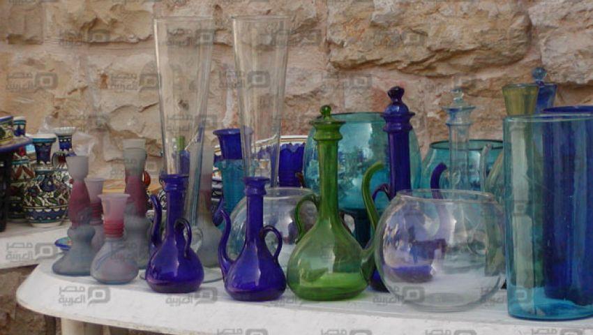 ورشة بيركس.. فن تحويل الزجاج إلى تحف