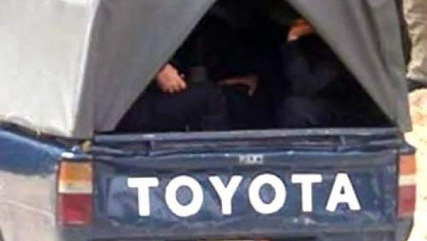 ضبط 6 من حاملي الأسلحة البيضاء بدمياط