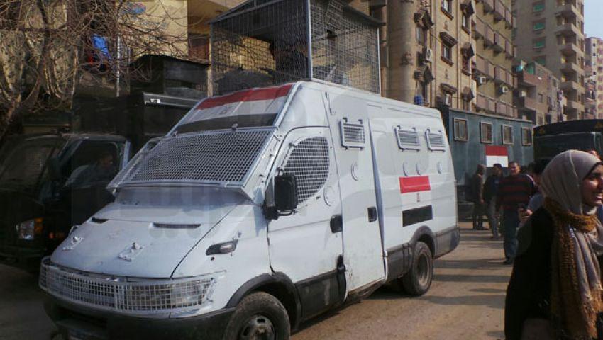 بالصور.. الأمن يطارد المتظاهرين بالعمرانية بقنابل الغاز