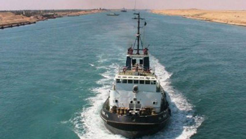 عبور 45 سفينة مجرى قناة السويس