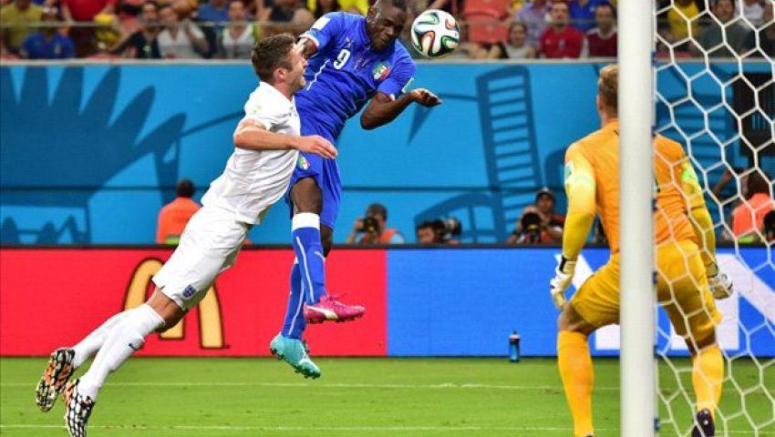 صورة.. جماهير إيطاليا تهاجم الجماهير الإنجليزية
