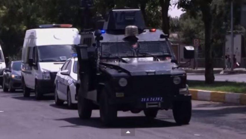 فيديو.. توتر أمنى بديار بكر رفضًا لهجمات الجيش التركي ضد حزب العمال
