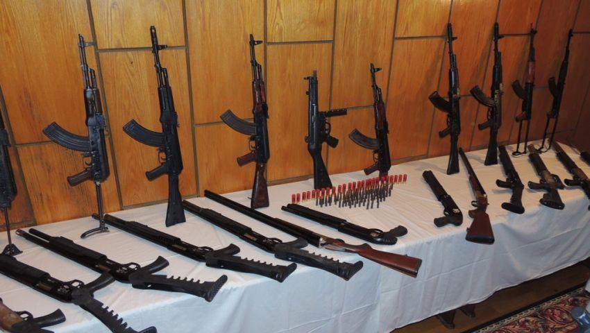 بالصور.. عائلات سوهاج تسلم 25 بندقية لمديرية أمن الإسكندرية