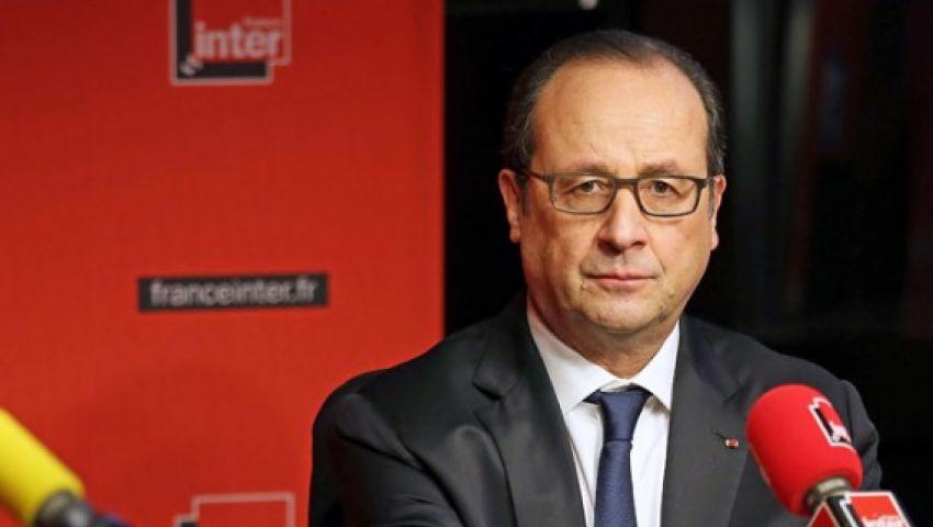 الرئيس الفرنسي يشارك في مسيرة تونس المناهضة للإرهاب
