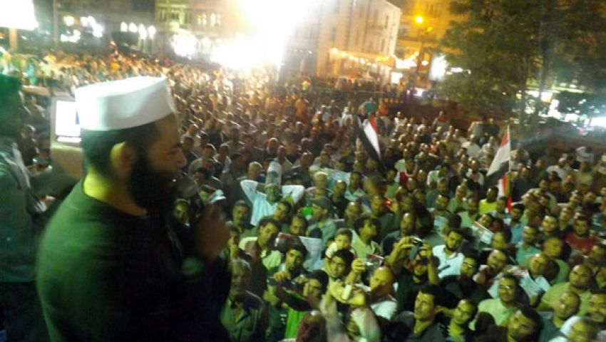 تراويح ثورية في الفيوم لمناصرة مرسي