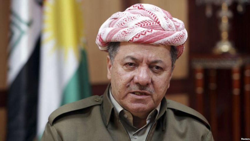 بارزاني في بغداد لمناقشة معركة تحرير الموصل