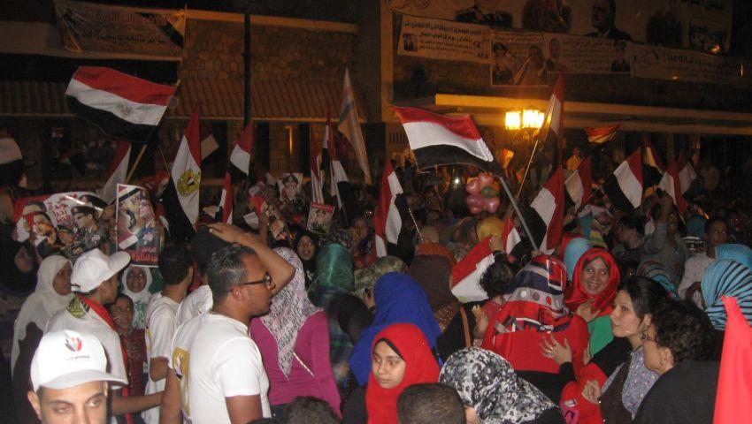 احتفالات بمحافظات مصر بقرار ترشح السيسي للرئاسة