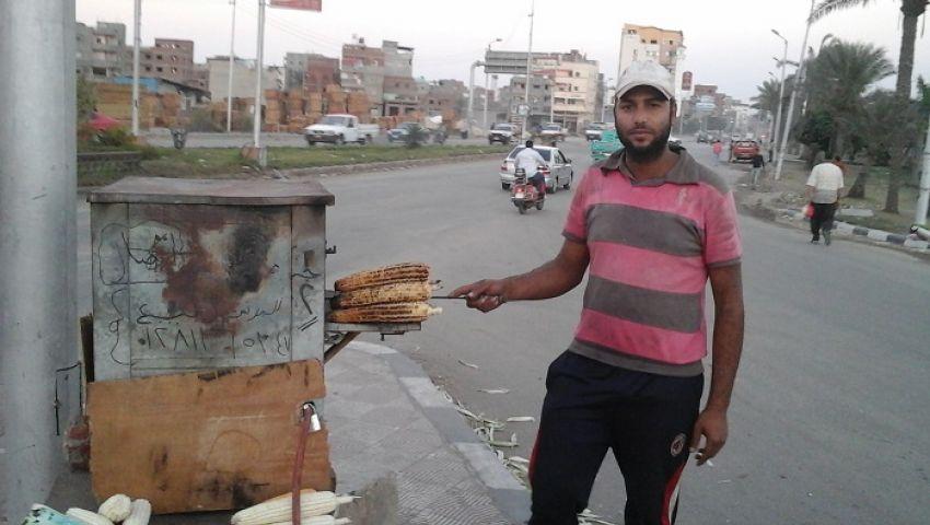 بالفيديو.. محمد الدرعمي.. من تعليم الألف لبيع كوز الدرة