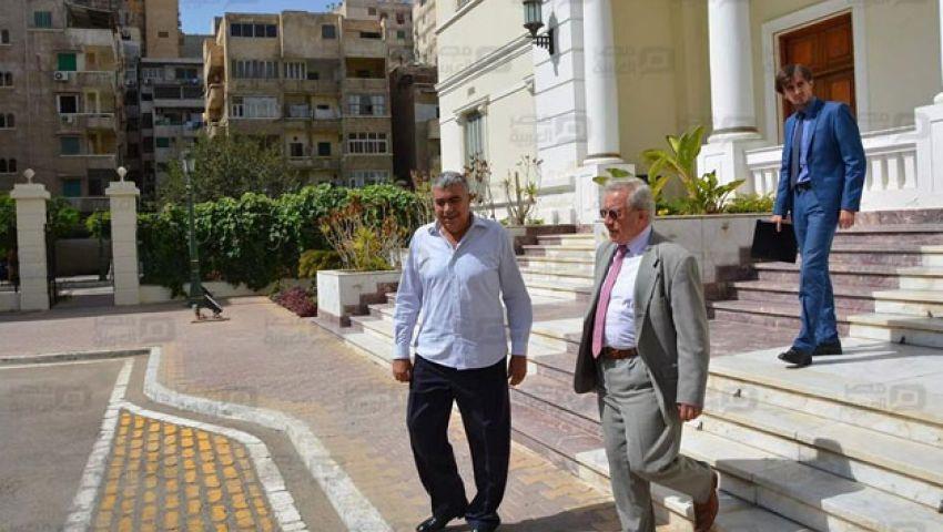بالصور.. القنصل الروسي بالإسكندرية: عاصرت 5 رؤساء لمصر في 4 سنوات