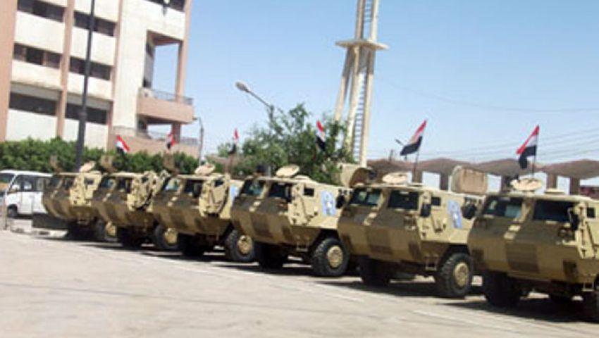 مدرعات الجيش تنتشر بالإسكندرية