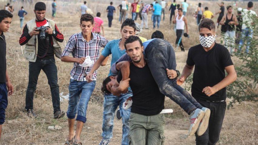 إصابات برصاص الاحتلال شرق قطاع غزة