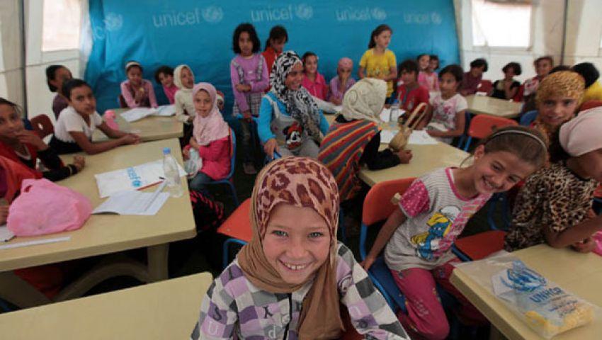 12 ألف طفل سوري يبدأون الدراسة في الزعتري