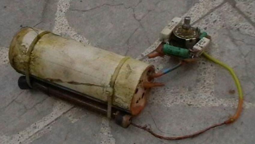 انفجار قنبلة بدائية بجوار مركز شرطة قطور بالغربية