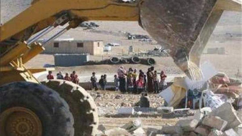 إسرائيل تهدم مساكن بدو الأغوار لإقامة مستوطنات