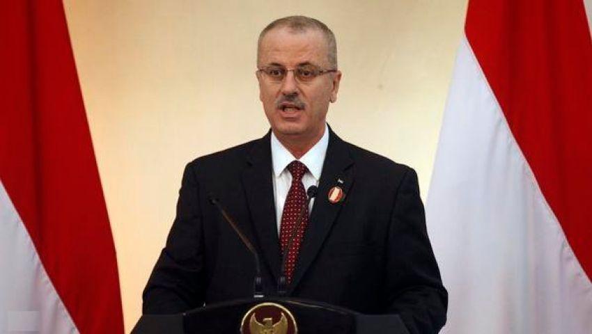 رئيس الوزراء الفلسطيني يدعو أمريكا لدعم موازنة بلاده