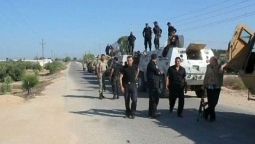 ضبط 111 محكوما و63 مشتبها بهم شمال سيناء