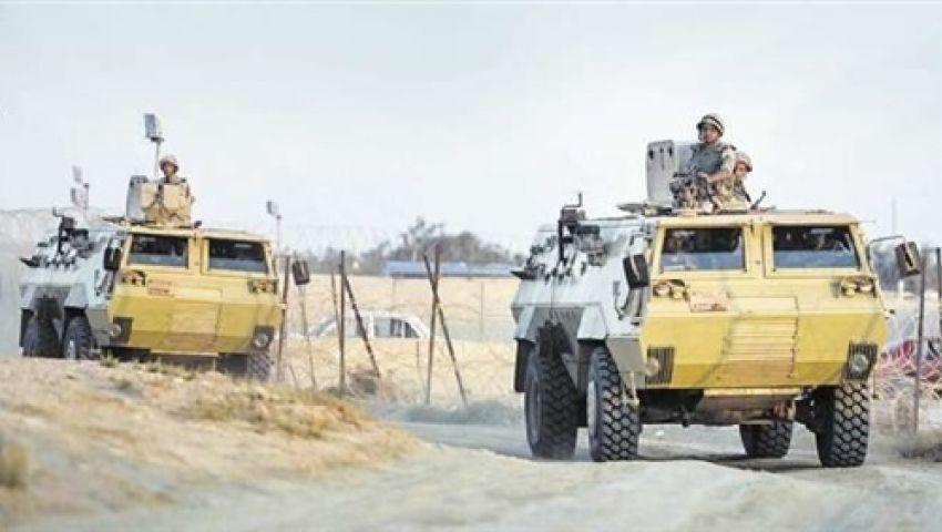 حملة أمنية موسعة بشمال سيناء