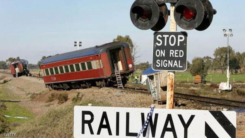الدود وراء حادث قطار بأستراليا