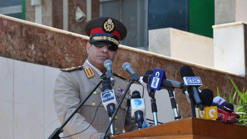 السيسي: أقسم بالله العظيم..الجيش على قلب رجل واحد