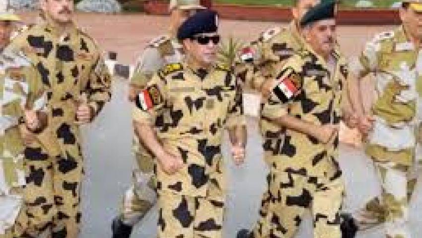 السيسي يتفقد ميدان التحرير
