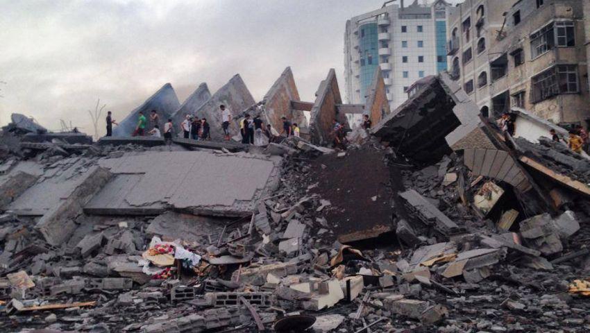 إحصائية عدوان غزة.. استشهاد 2137 وتدمير15671 منزلا