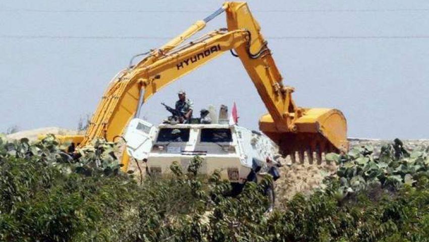 الجيش يشن حملة على أنفاق غزة ويصادر سلعًا للتهريب