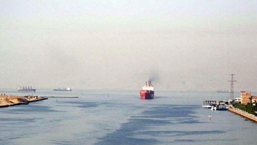 انفجار على متن سفينة أثناء مرورها بقناة السويس