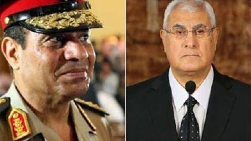 غداً..القضاء الإدارى ينظر دعوة إسقاط الجنسية عن منصور والسيسي