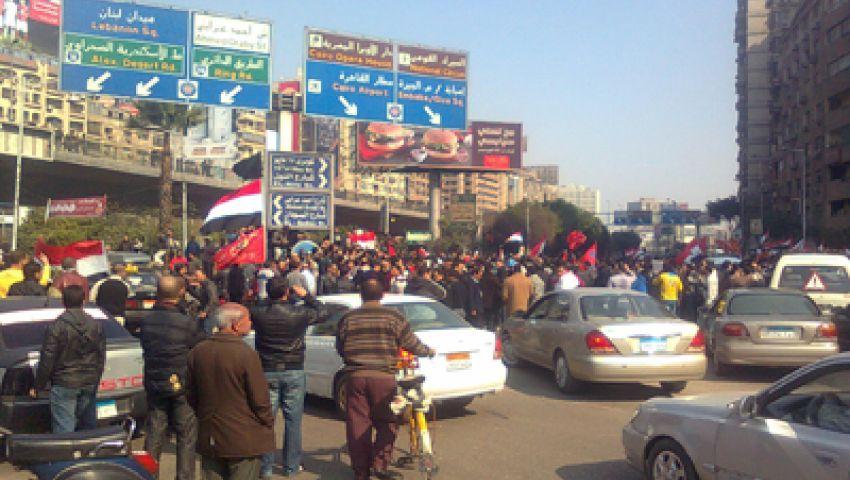 متظاهرو الميدان الثالث يحتشدون رفضًا لـالفلول والعسكر والإخوان