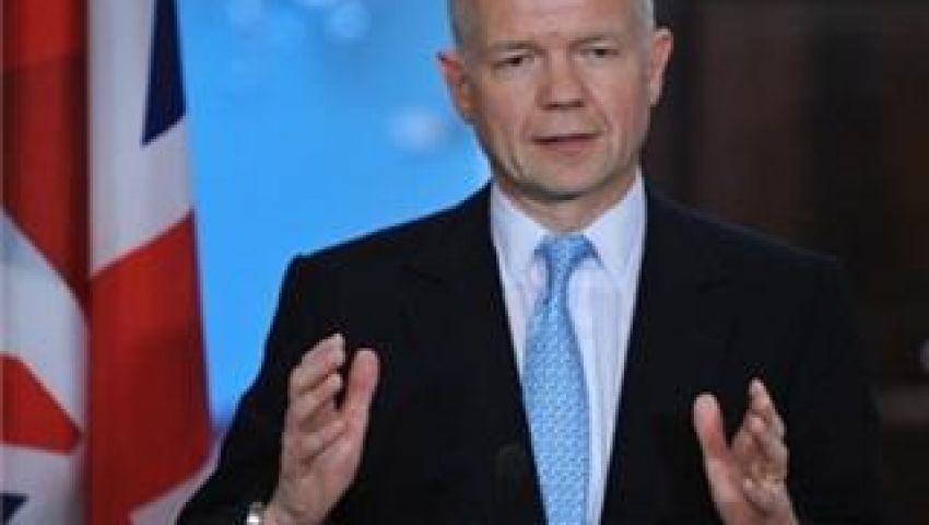 هيغ: سنواصل دعم التحرك السياسي ضد دمشق