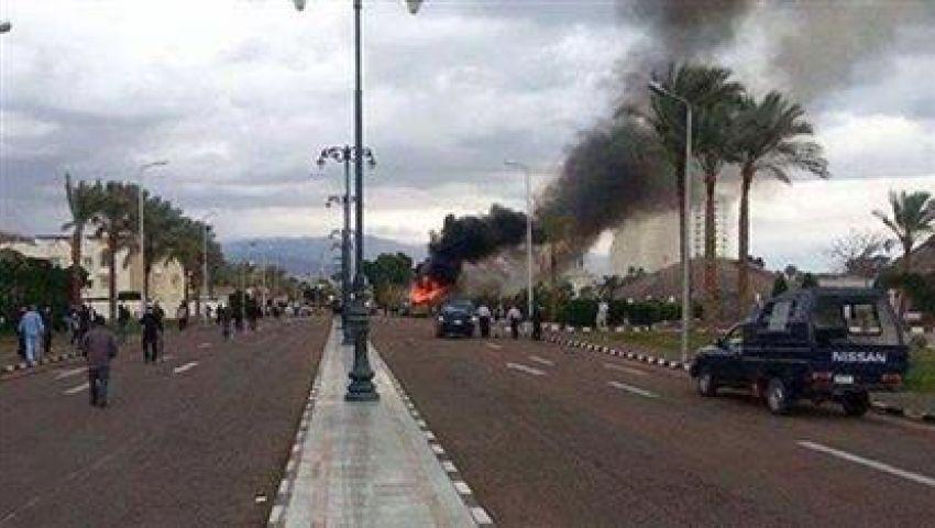 قذيفة صاروخية على معسكر الزهور بالشيخ زويد دون خسائر
