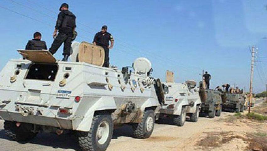 ضبط سلاح بدون ترخيص و43محكوما عليهم بشمال سيناء