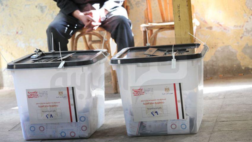خلو لجنة عثمان بن عفان بالعمرانية  من الناخبين