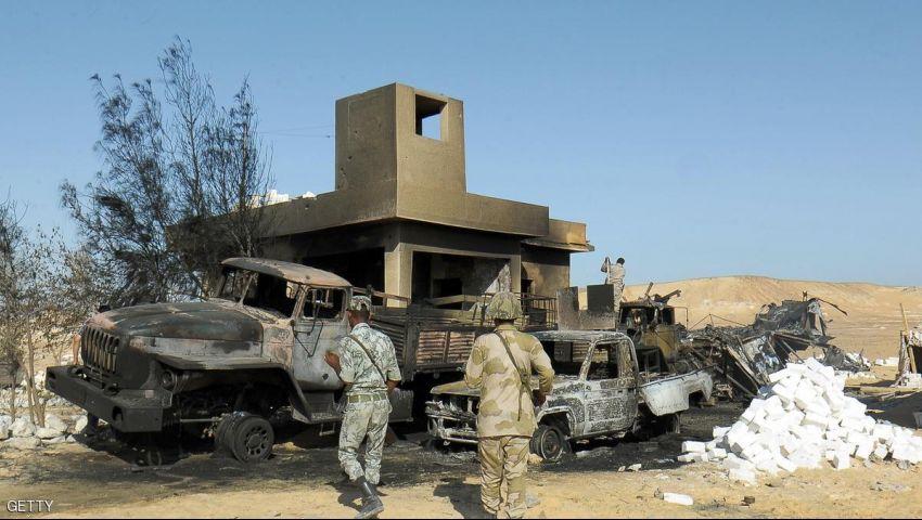 مقتل جندي في انفجار عبوة ناسفة بالشيخ زويد