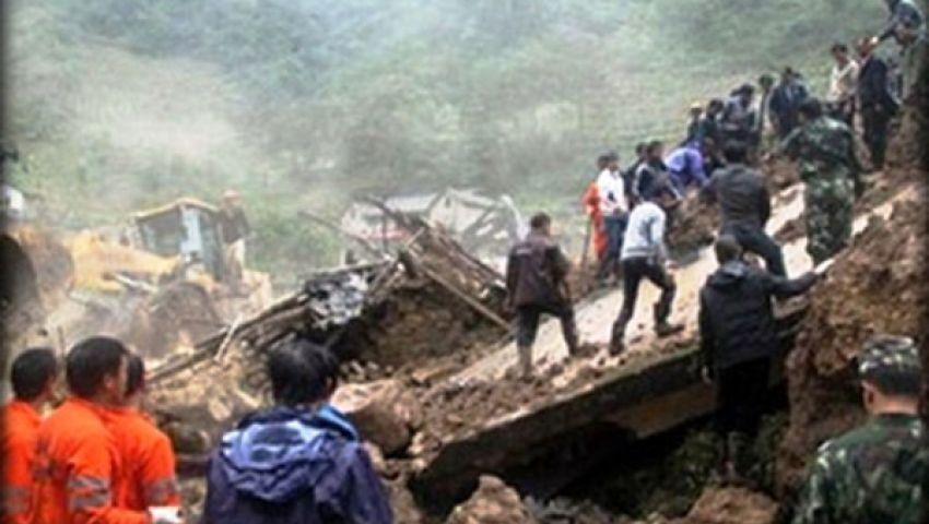 مقتل 7 أشخاص في انزلاق أرضي بغرب نيبال