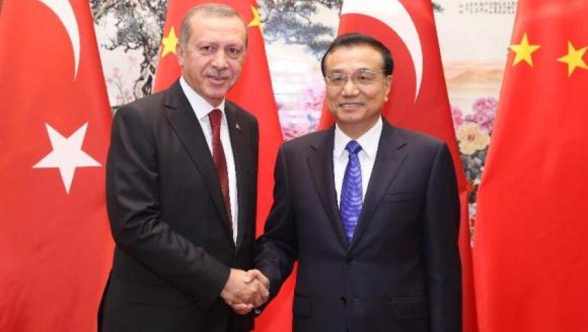 أردوغان : تركيا والصين تمتلكان العزم السياسي لتطوير العلاقات بينهما