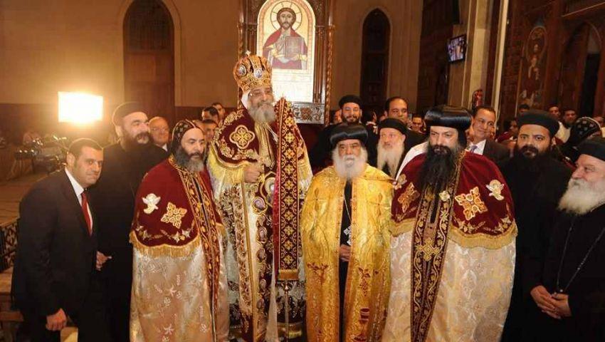 تواضروس يرسم 3أساقفة جدد بالكنيسة الأرثوذكسية