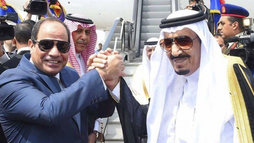 السيسي يهنئ  الملك سلمان بالعيد الوطني للسعودية