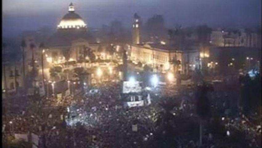 لجان لتأمين المتظاهرين المؤيدين لمرسي في النهضة