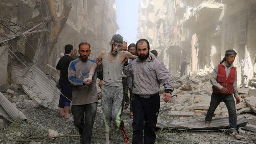سوريا.. مقتل 66 مدنيا جراء غارات جوية للنظام  وروسيا على حلب