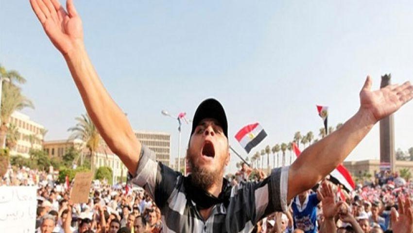 مشادات بين مؤيدي مرسي وسائقي سيارات